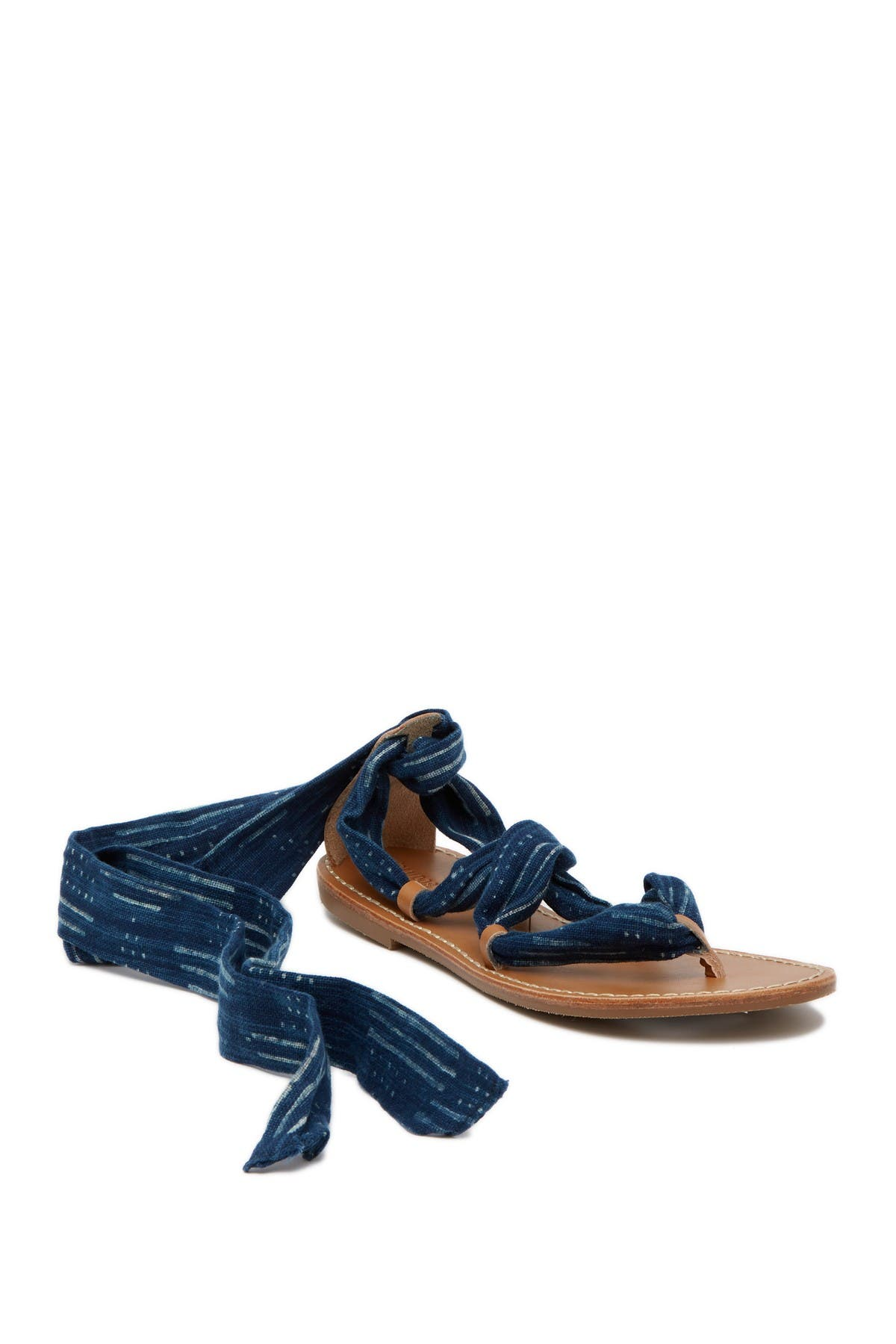 Image of Soludos Indigo Bandana Sandal