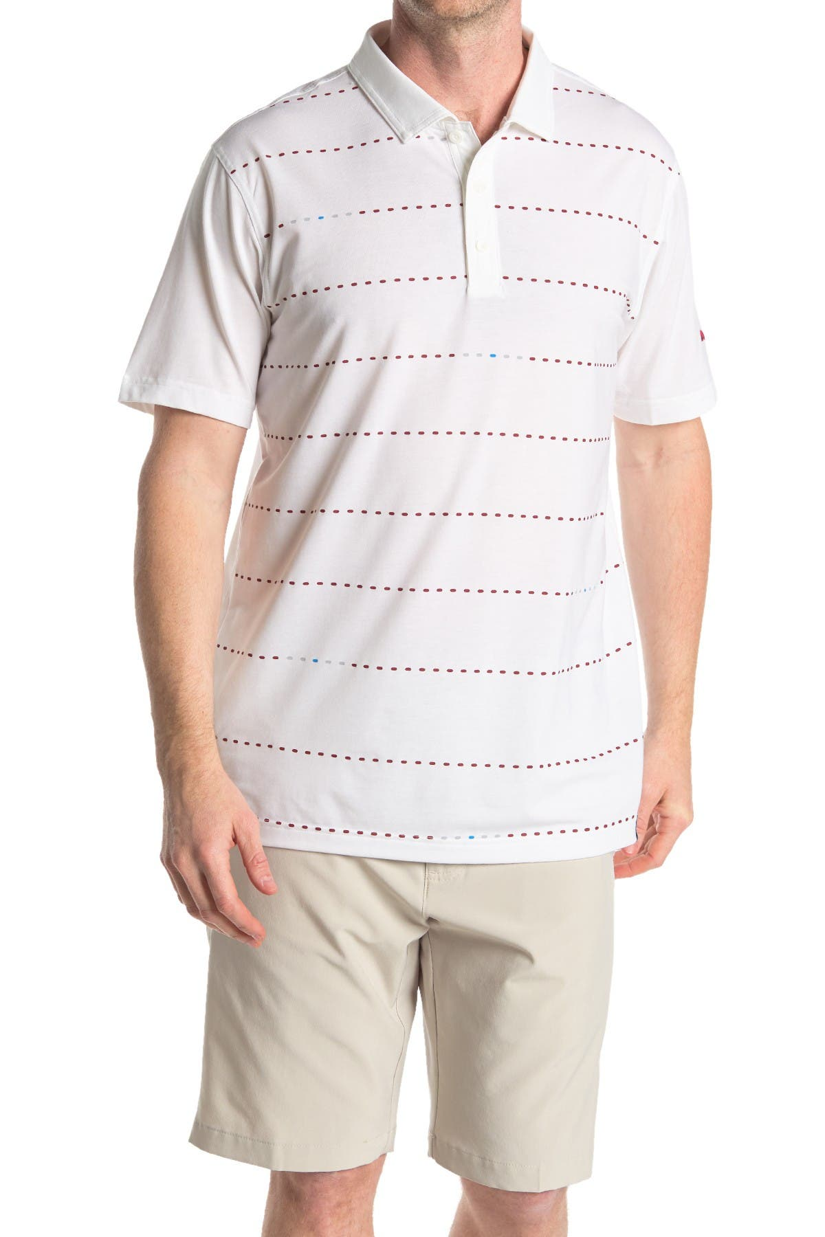 Image of PUMA GOLF Fusion Dot Polo Shirt