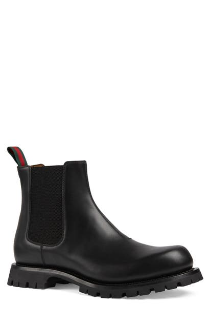 Gucci Leathers KYRA CHELSEA BOOT