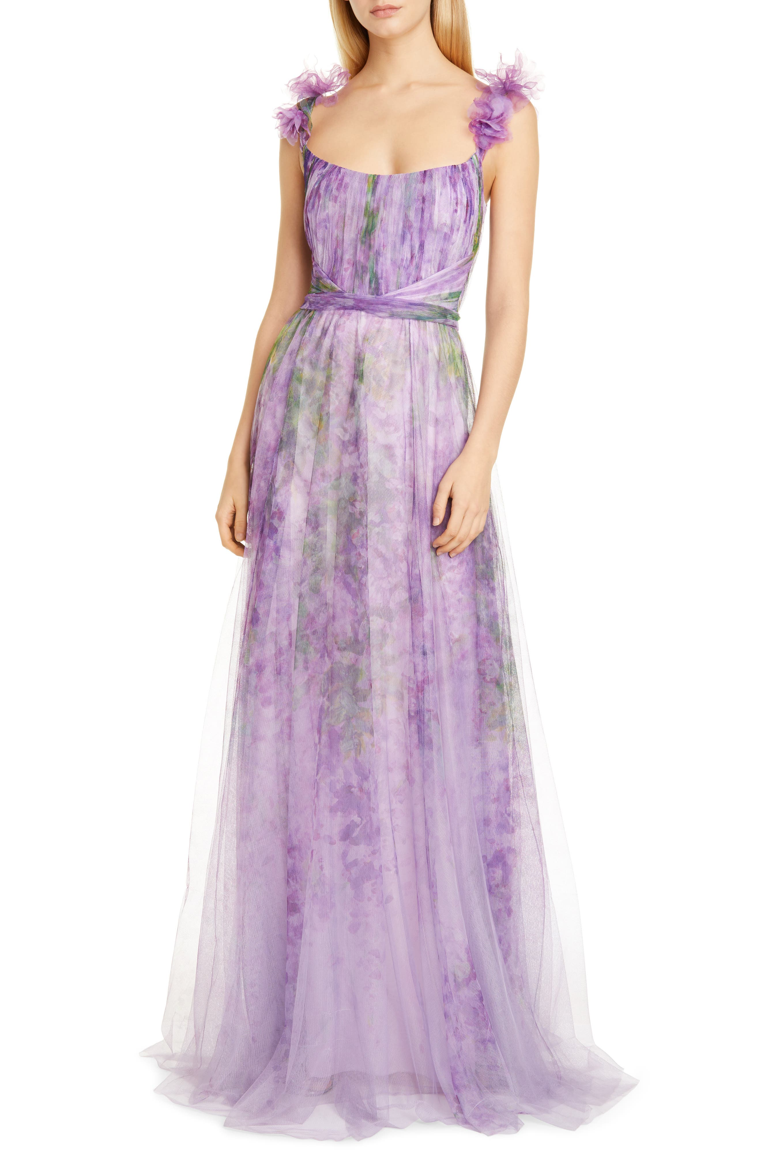 Marchesa Notte A-Line Tulle Gown | Nordstrom