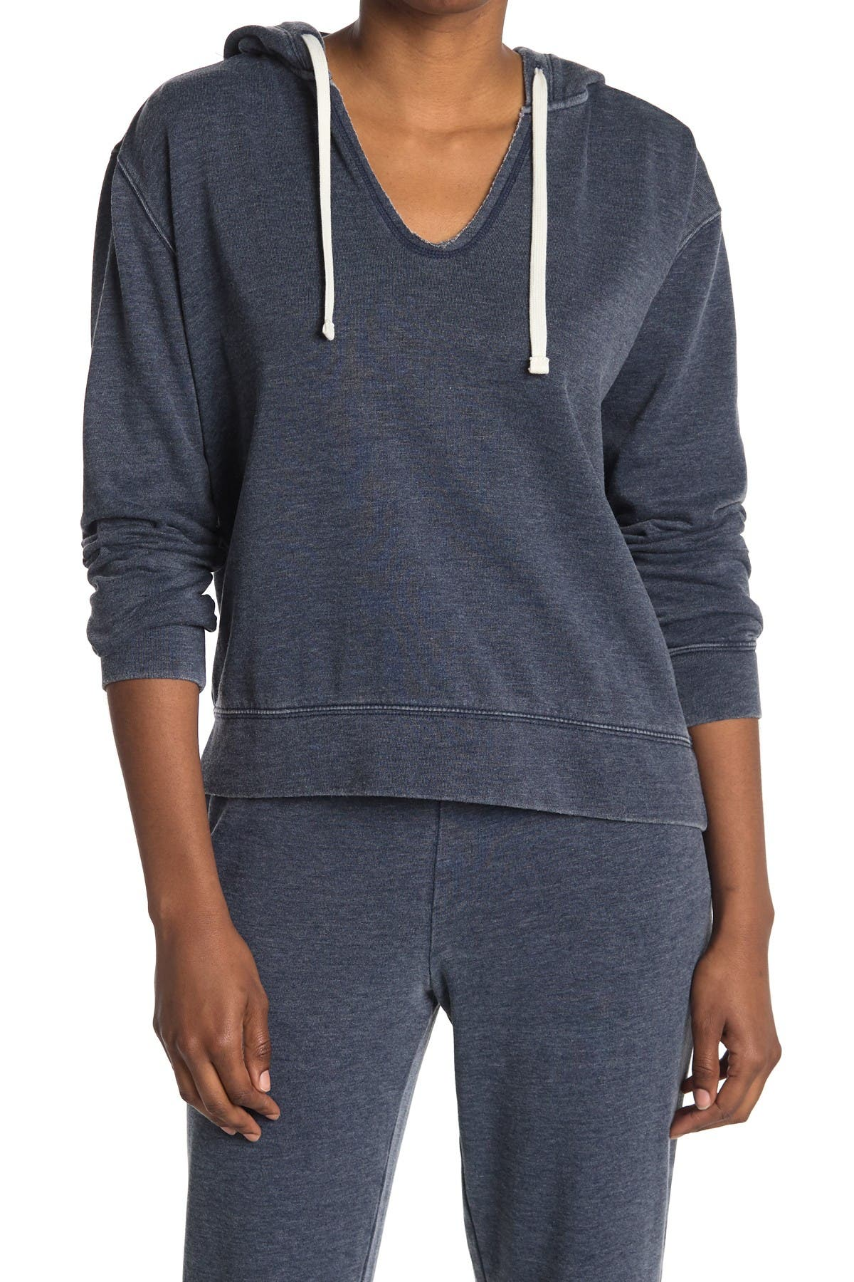 Image of Splendid Hooded Knit Pullover