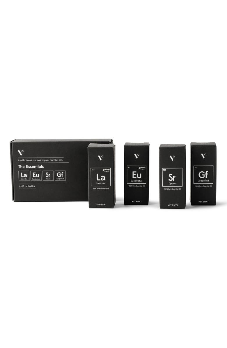 VITRUVI Essential Oils Set, Main, color, NO COLOR