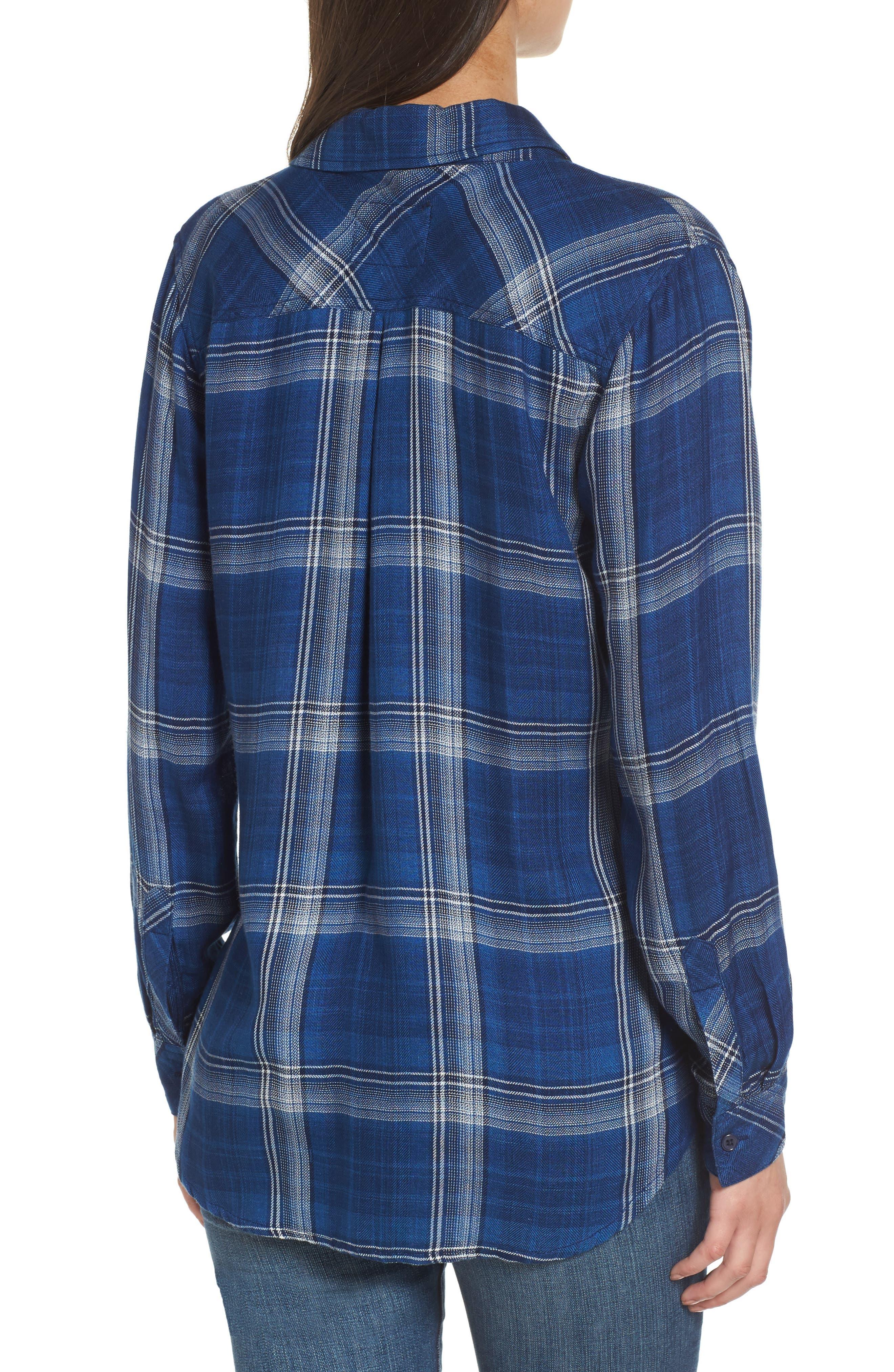,                             Hunter Plaid Shirt,                             Alternate thumbnail 732, color,                             402