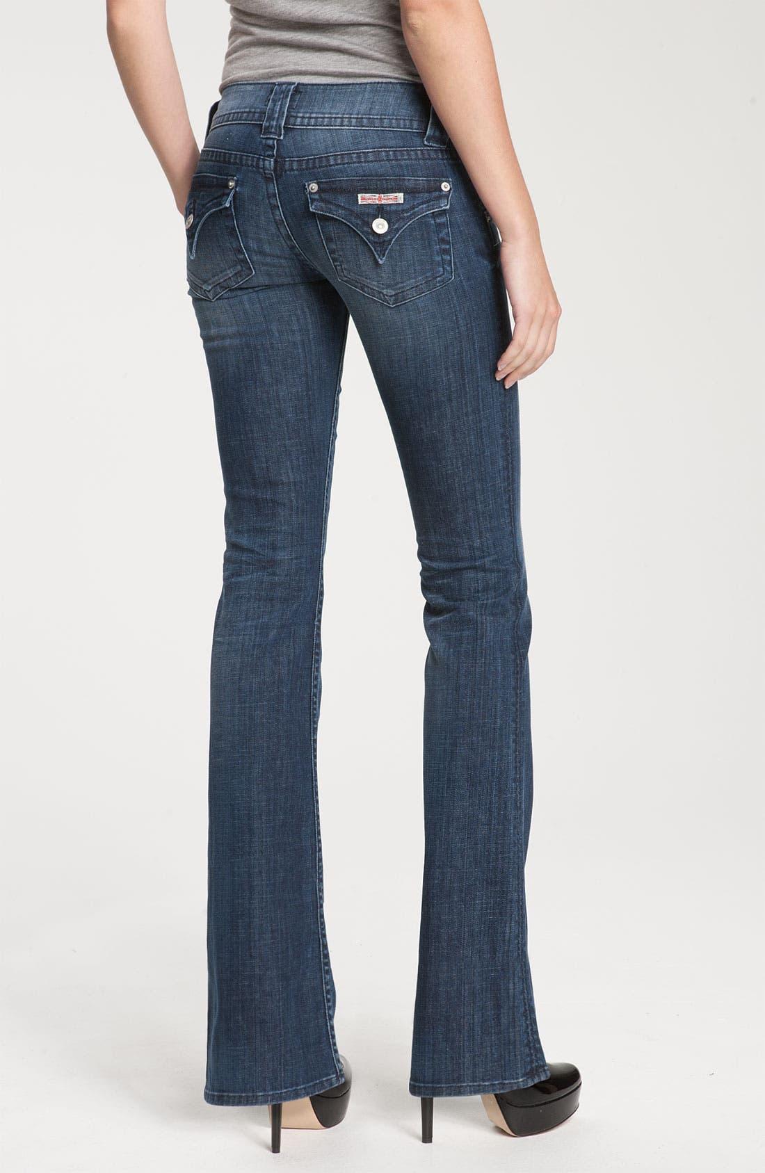 ,                             Signature Flap Pocket Bootcut Jeans,                             Alternate thumbnail 60, color,                             467