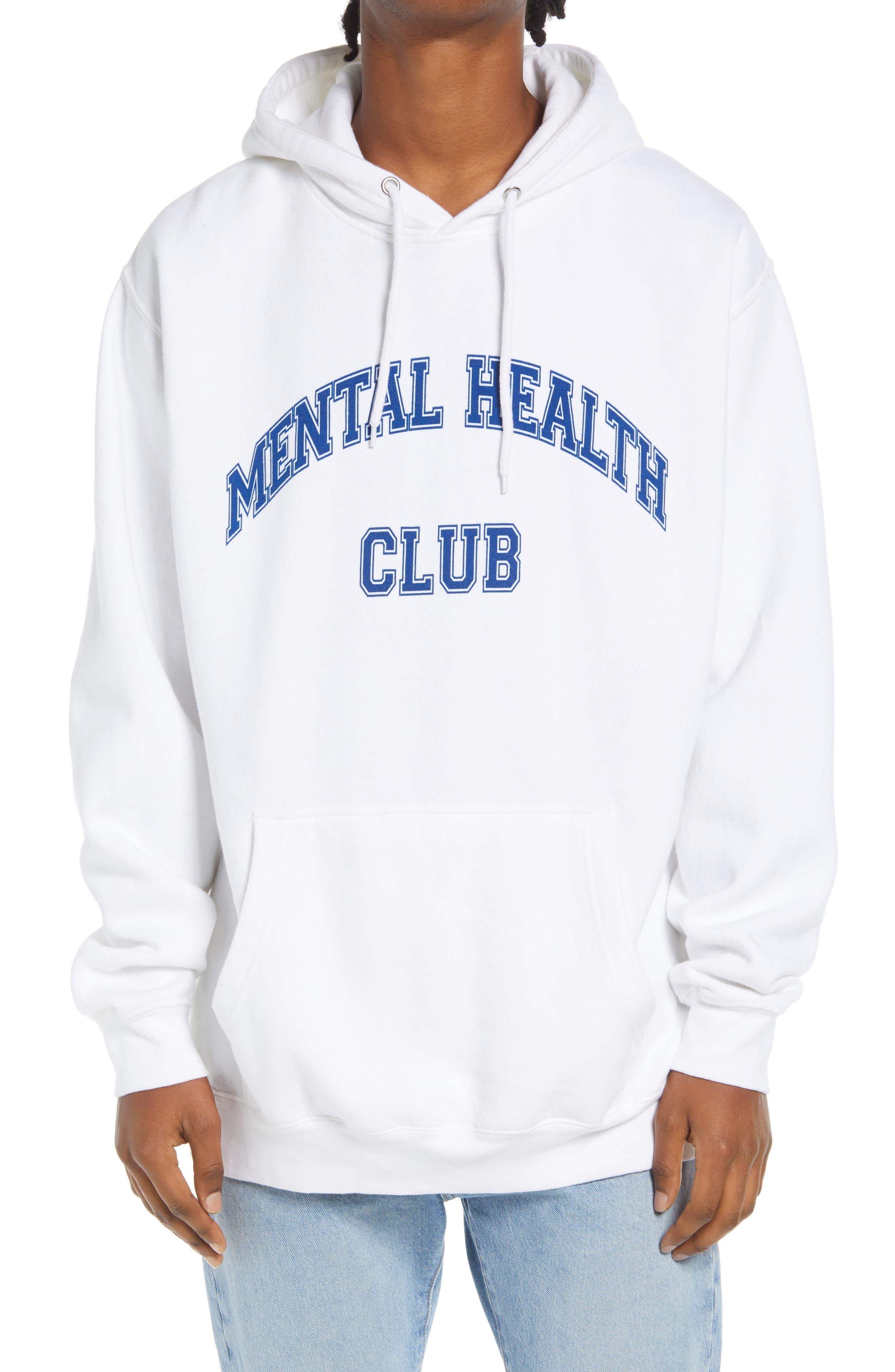 Men's Mental Health Club Graphic Hoodie