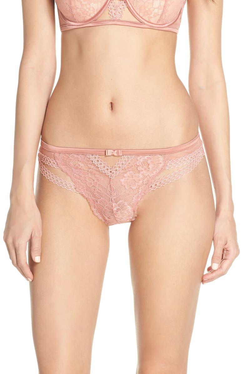 PALINDROME Fleur Lace Bikini, Main, color, 950
