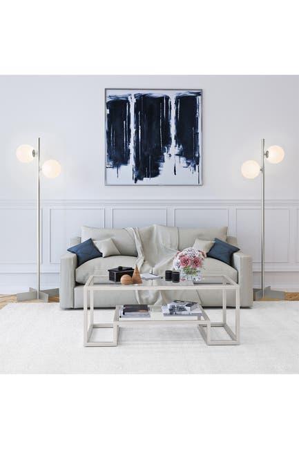Image of Addison and Lane Twee Floor Lamp - Nickel