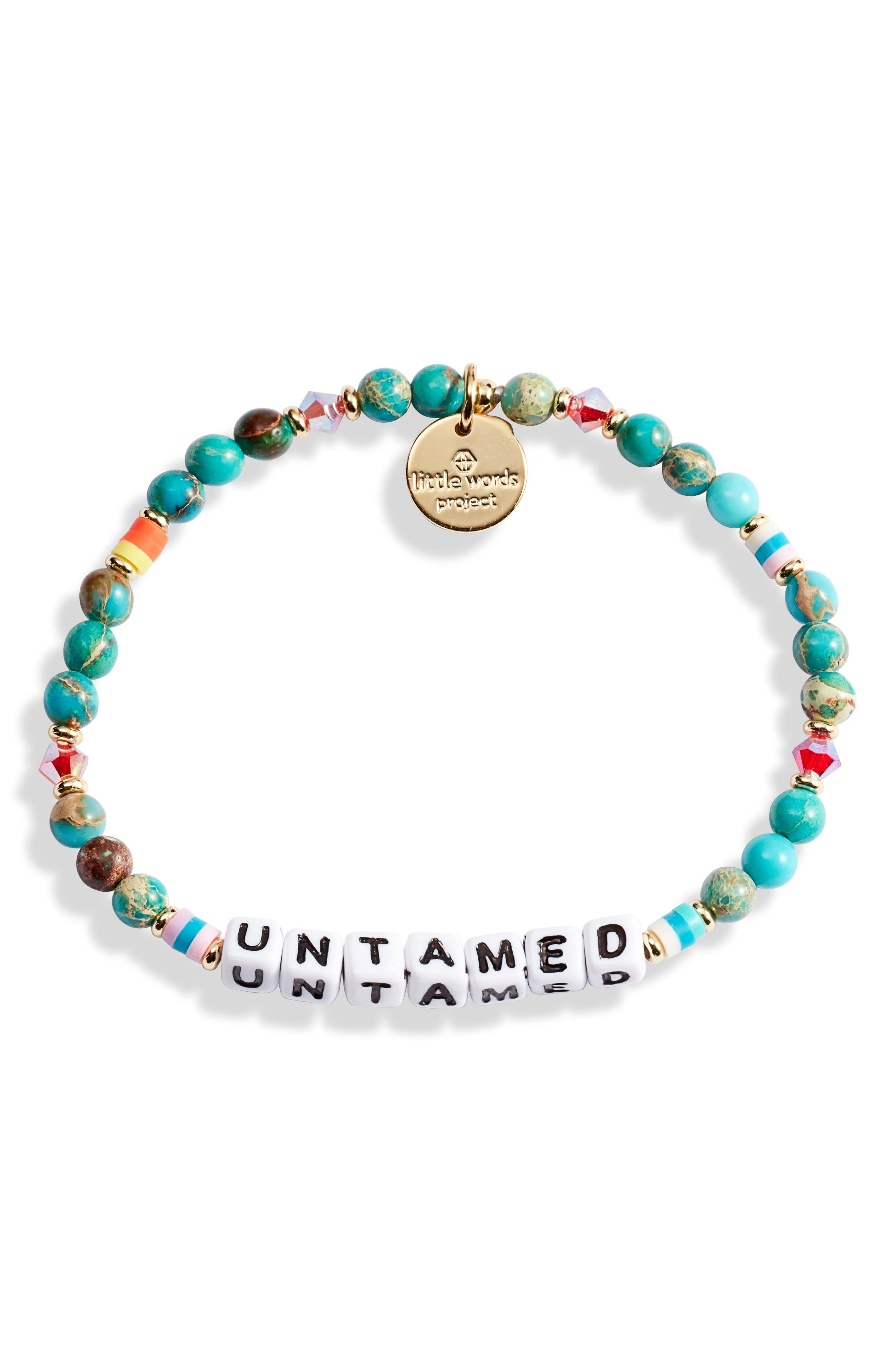 Untamed Beaded Stretch Bracelet