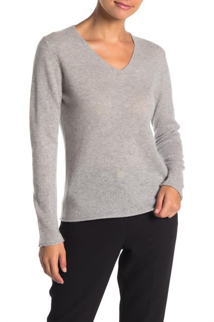 Image of M Magaschoni Cashmere V-Neck Sweater