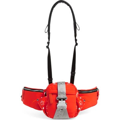 Mcm Jemison 3-In-1 Crossbody Belt Bag - Red