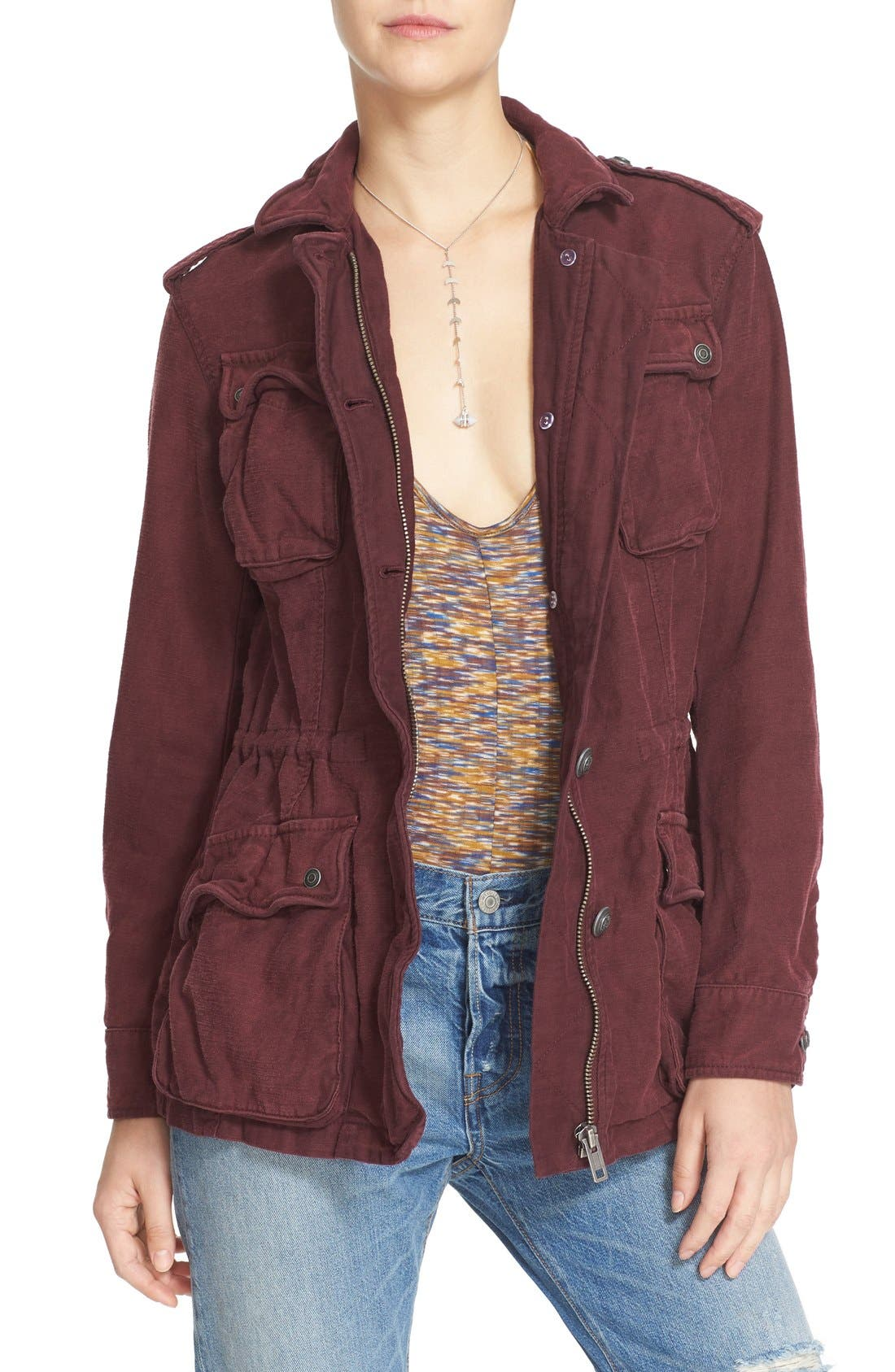 ,                             'Not Your Brother's' Utility Jacket,                             Main thumbnail 30, color,                             935