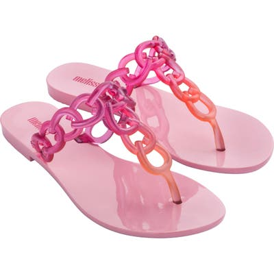Melissa Big Chain Flip Flop, Purple