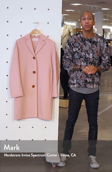 Classic Double Face Cashmere Coat, sales video thumbnail