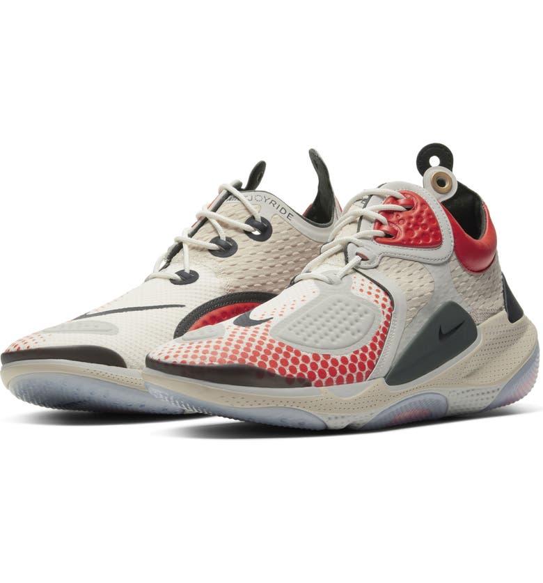 NIKE Joyride CC3 Setter Mid-Top Sneaker, Main, color, SAIL/ SEQUOIA-ORANGE-BLACK