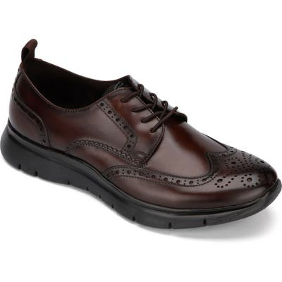 Kenneth Cole New York Trent Wingtip Sneaker, Brown