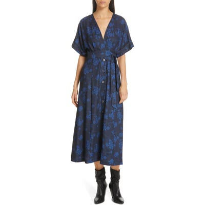 Equipment Nauman Dress, Blue