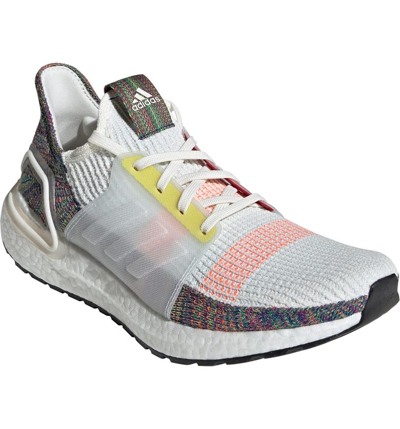 ADIDAS UltraBoost 19 Pride Running Shoe, Main, color, 100