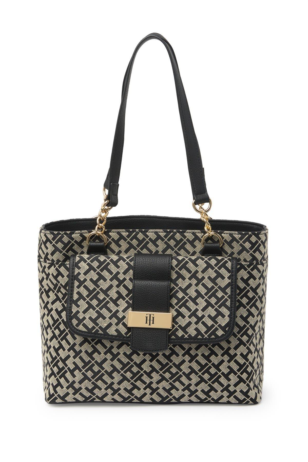 Image of Tommy Hilfiger Stephanie II Geom Shopper Bag
