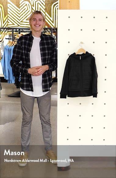 Mixed Media Hooded Jacket, sales video thumbnail