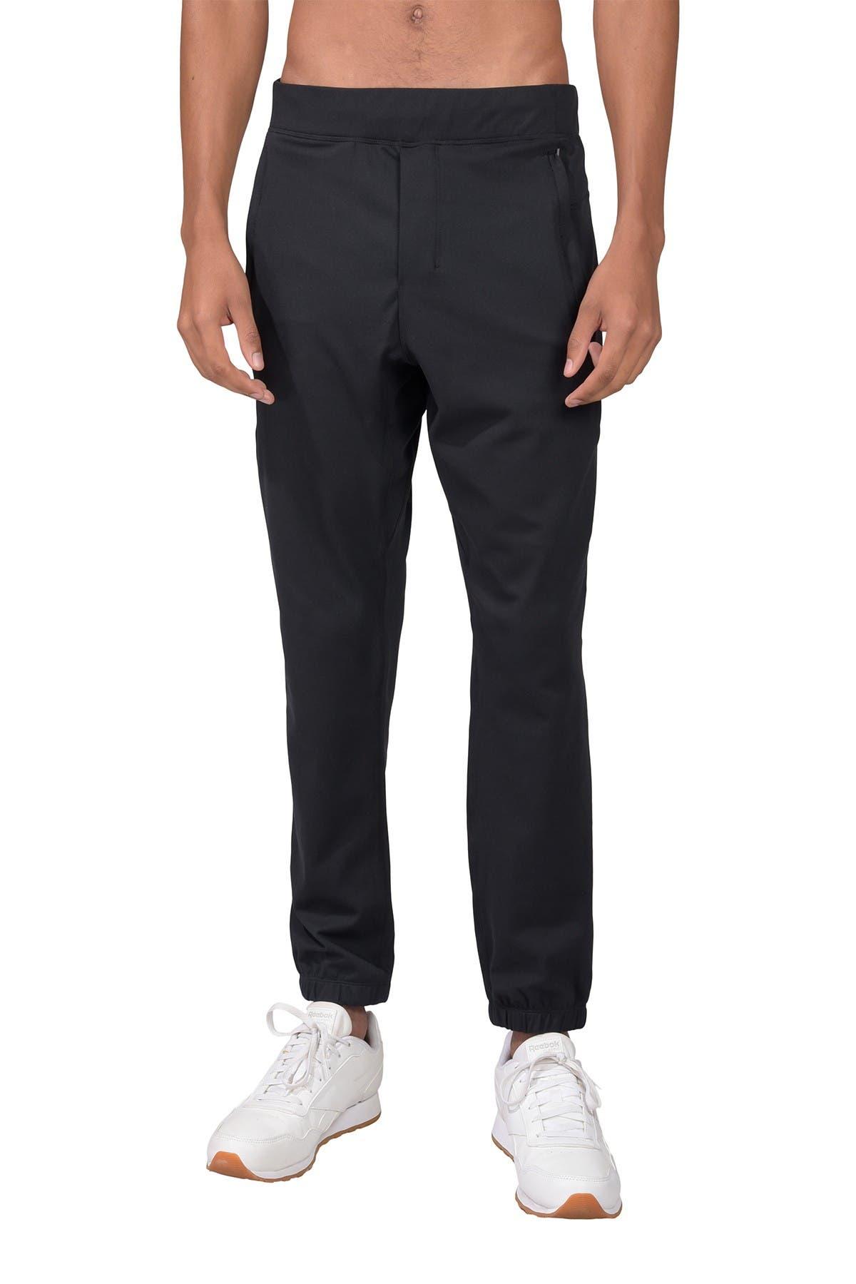 Image of 90 Degree By Reflex Interlock Zip Pocket Jogger Pants