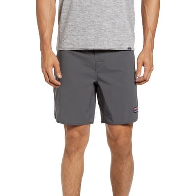 Patagonia Wavefarer Swim Trunks, Grey