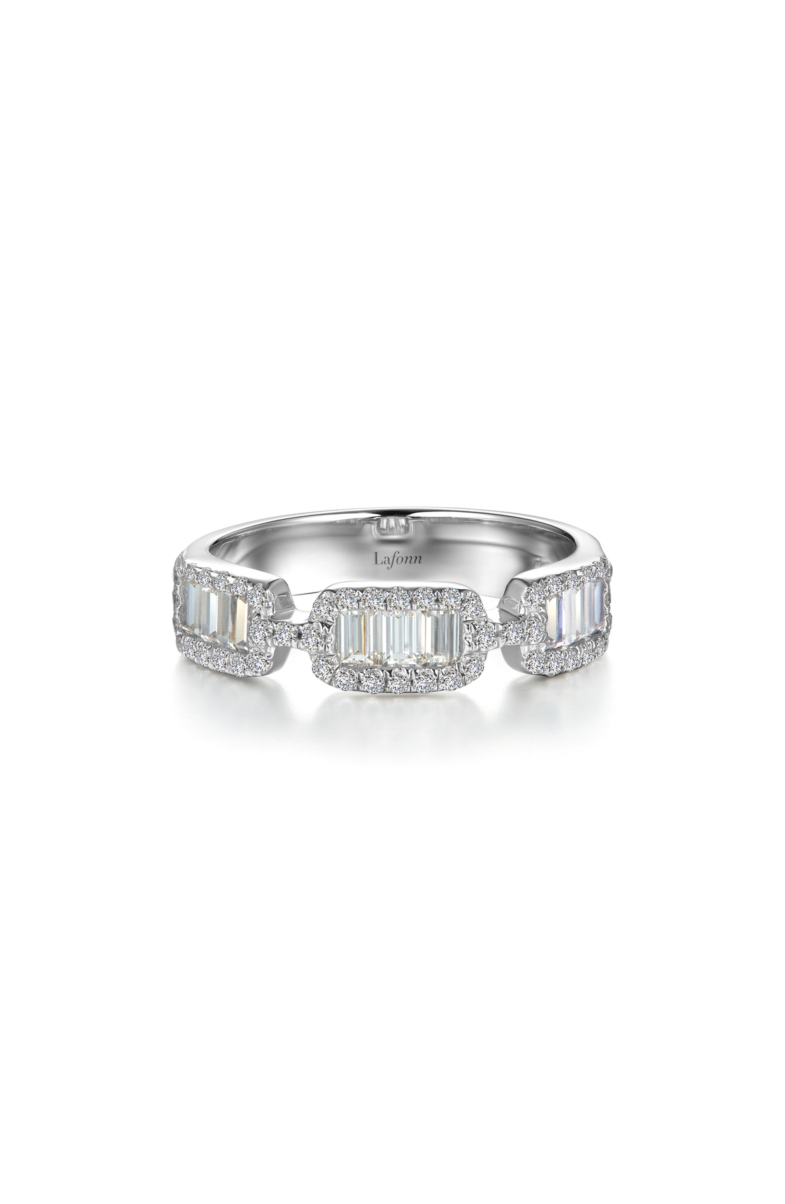 Half-Eternity Baguette Ring
