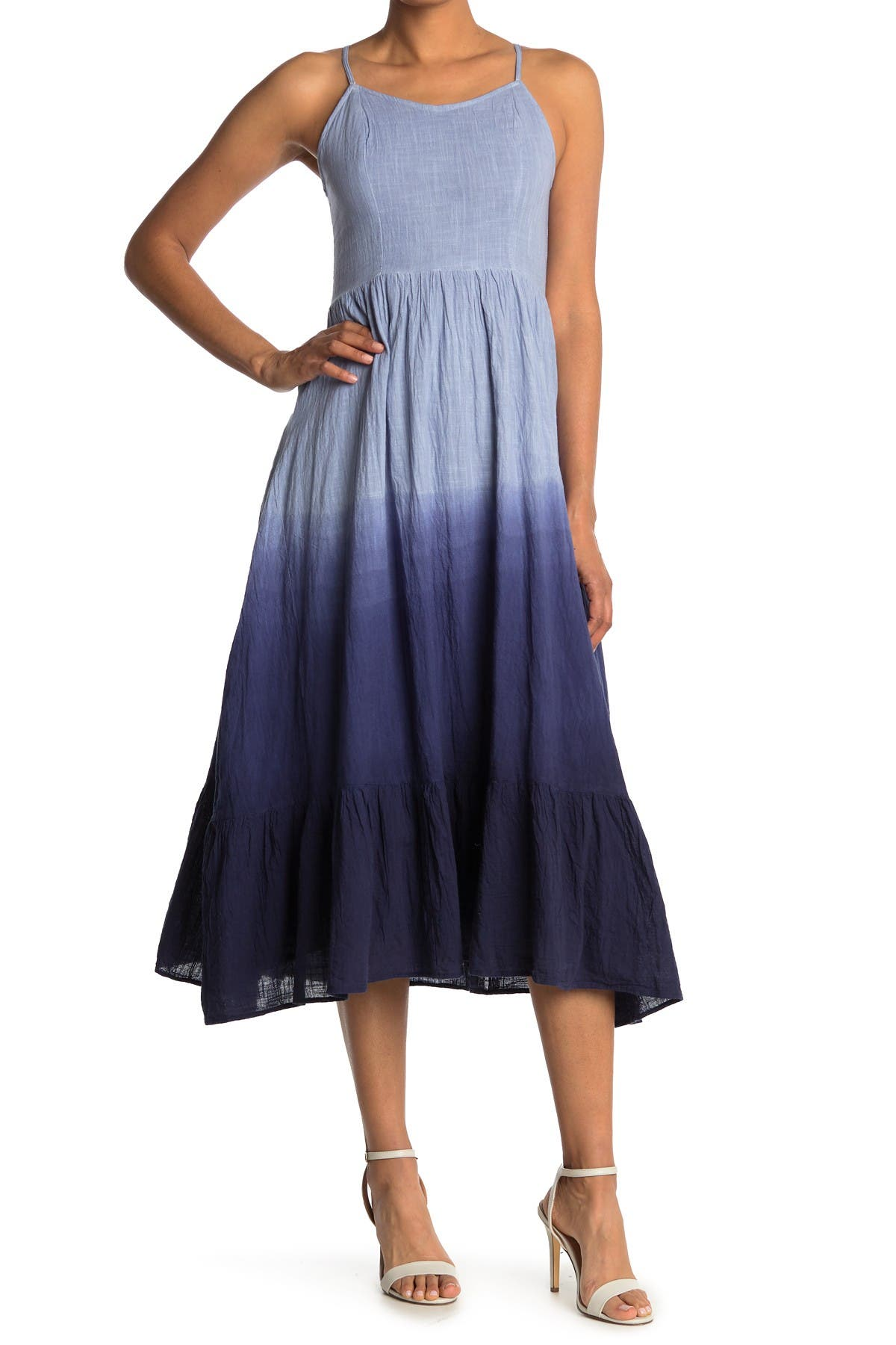 Image of Angie Ombre Maxi Sun Dress