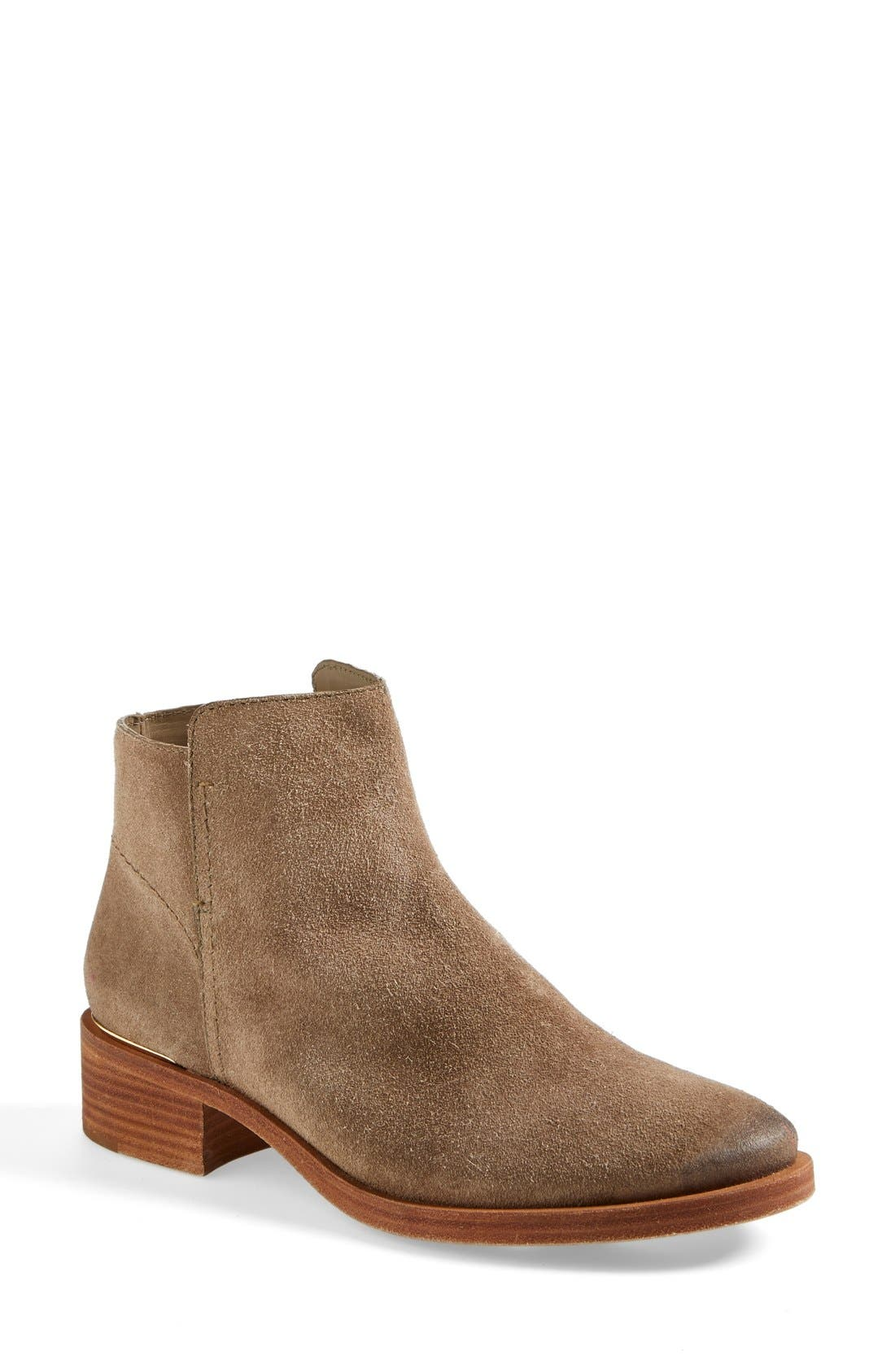 ,                             'Riley' Suede Ankle Boot,                             Main thumbnail 1, color,                             217