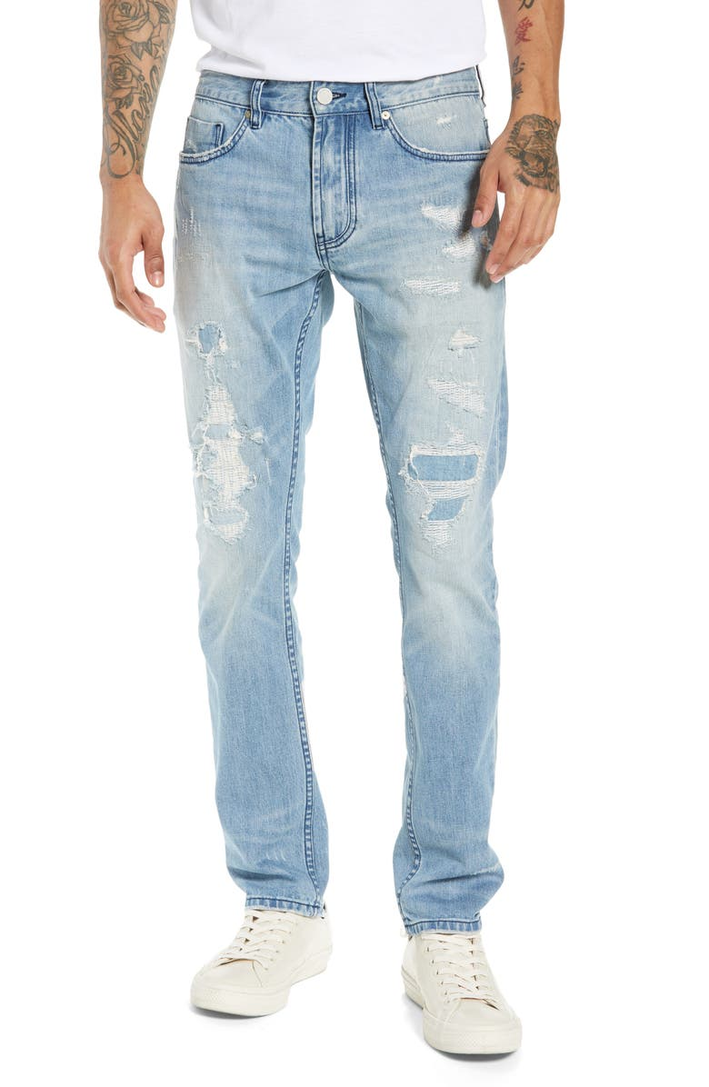 BLANKNYC Wooster Slim Fit Jeans, Main, color, 400