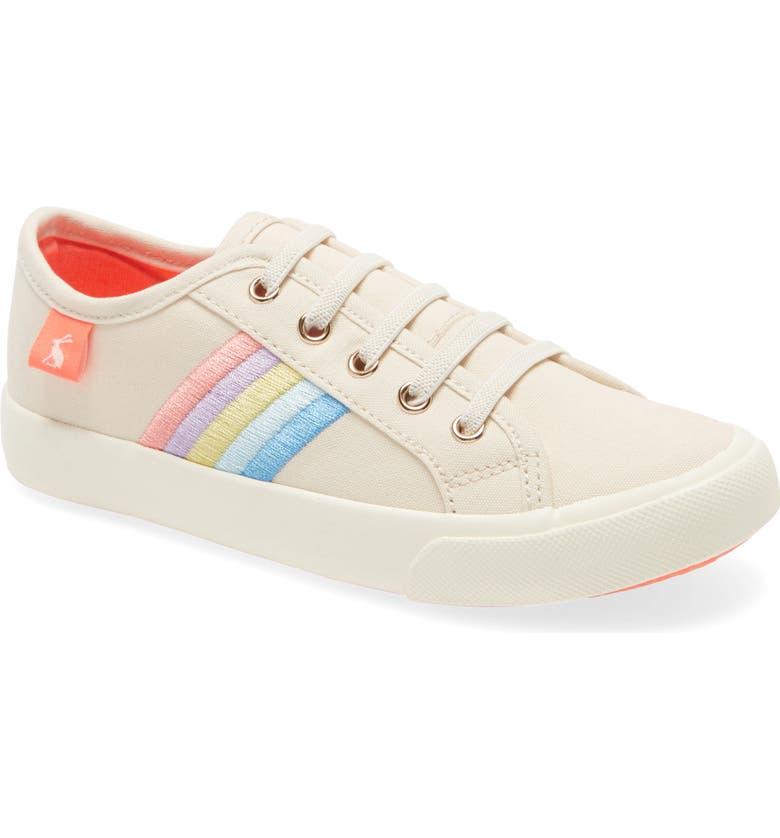 JOULES Coast Low Top Sneaker, Main, color, RAINBOW
