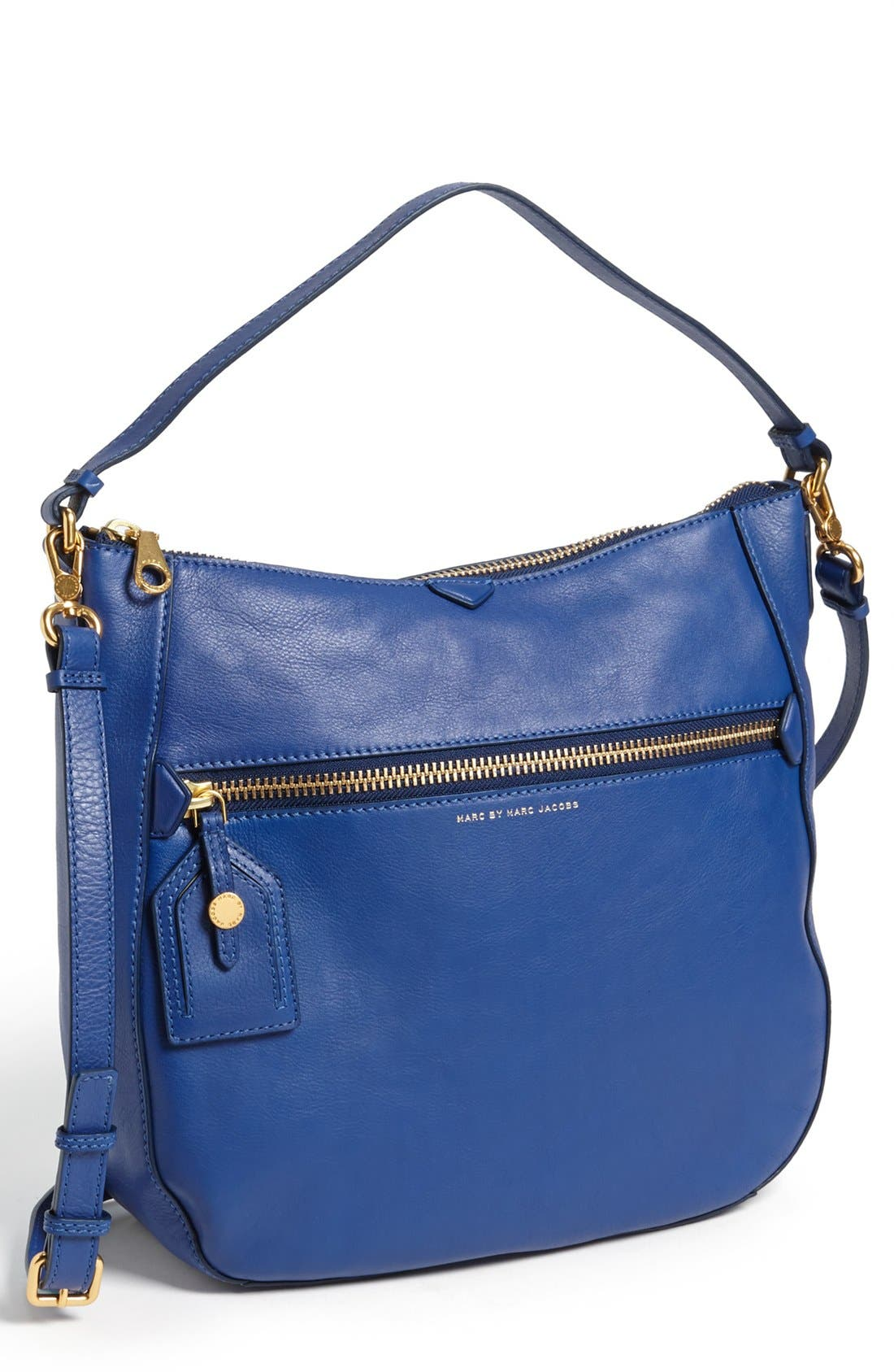 ,                             MARC BY MARC JACOBS 'Globetrotter - Kirsten' Leather Satchel,                             Main thumbnail 3, color,                             432