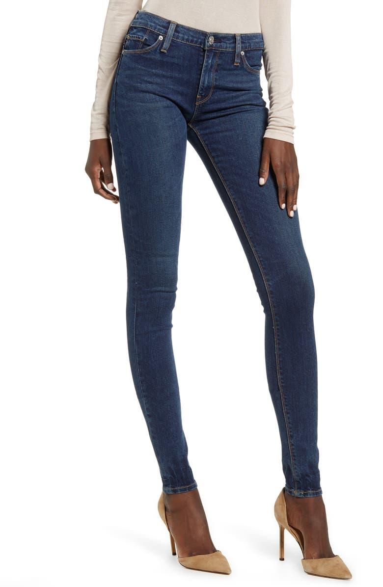 HUDSON JEANS Nico Supermodel Super Skinny Jeans, Main, color, 460