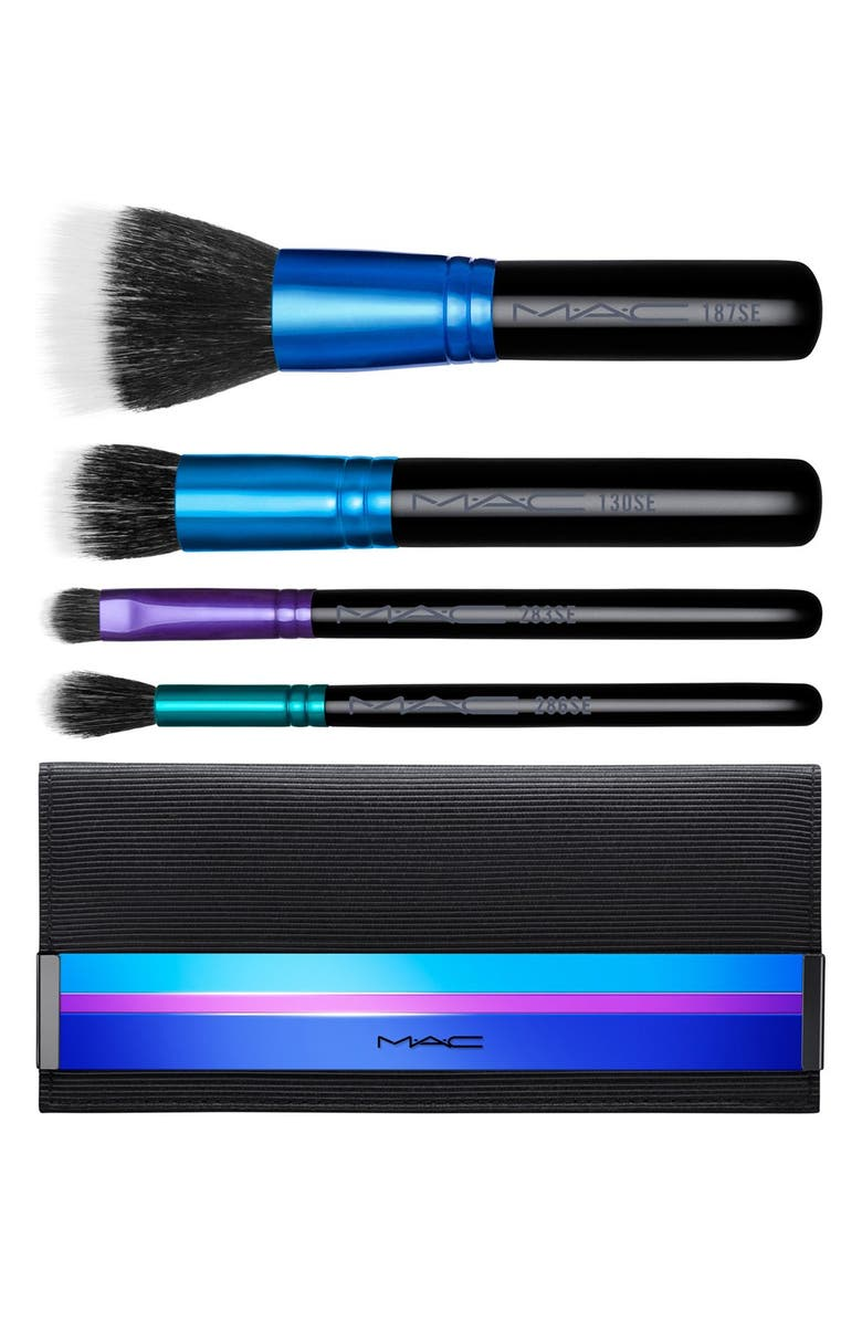 MAC COSMETICS M·A·C 'Enchanted Eve - Mineralize' Travel Brush Kit, Main, color, 000