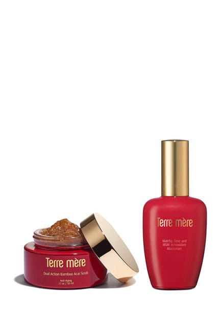 Image of Terre Mere Anti-Aging Peel and Nourish 2-Piece Set