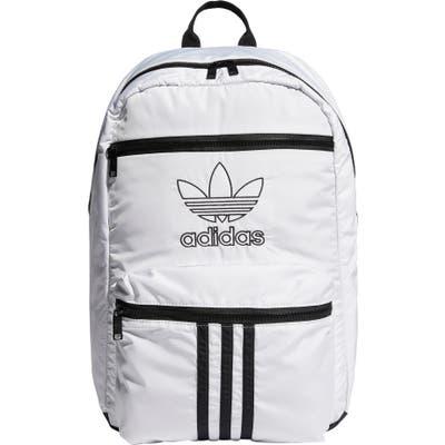 Adidas Originals National 3-Stripes Backpack - White