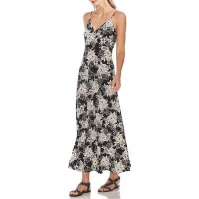 Vince Camuto Boudoir Botanical Maxi Dress, Black
