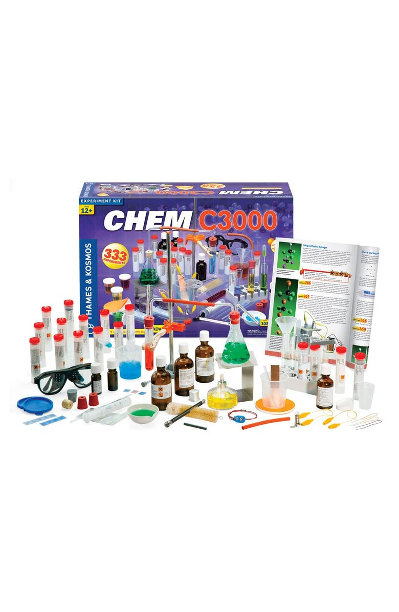 THAMES & KOSMOS 'CHEM C3000 (V 2.0)' Experiment Kit, Main, color, NO COLOR