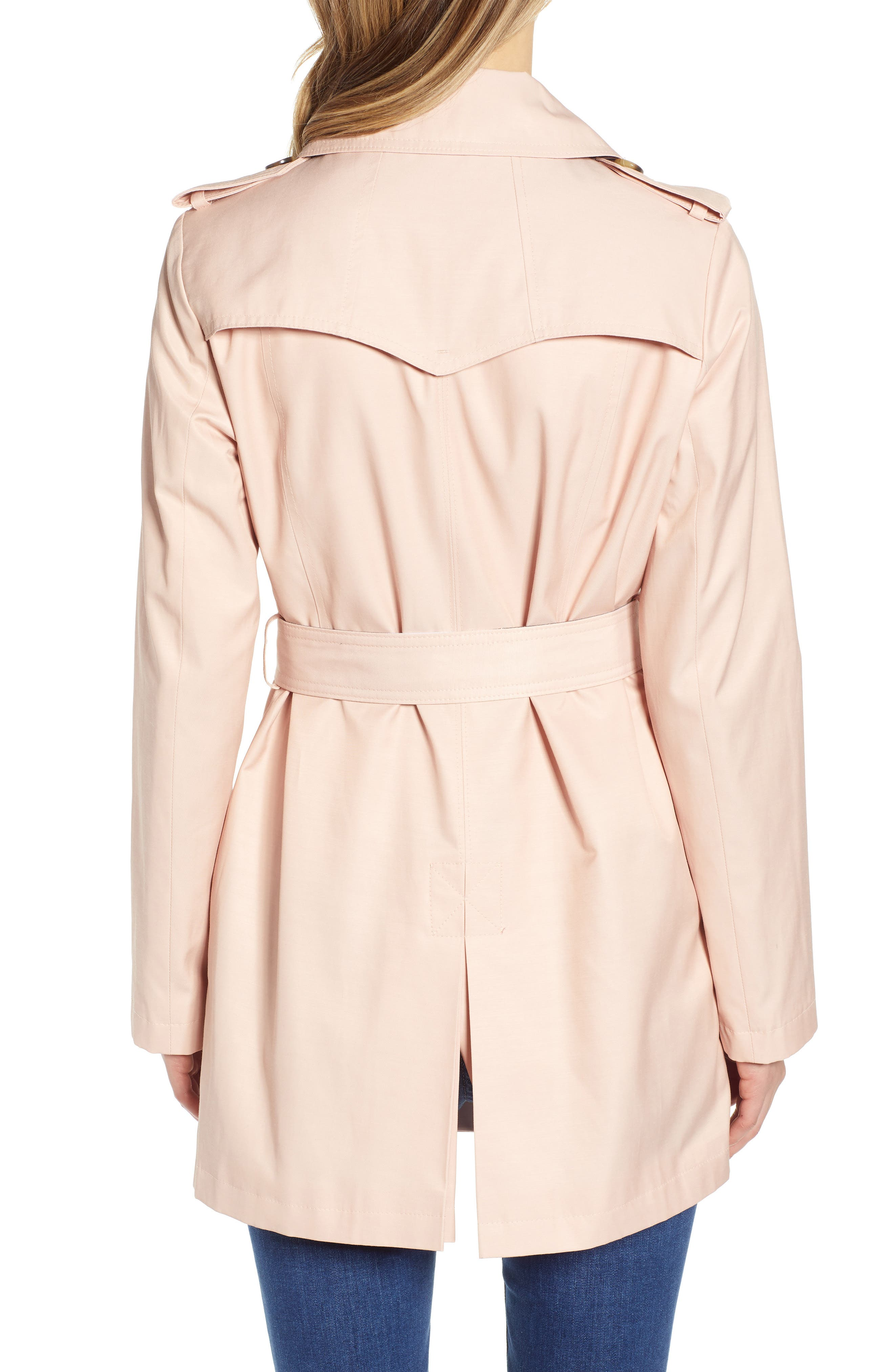 ,                             Water Resistant Trench Coat,                             Alternate thumbnail 2, color,                             BLUSH
