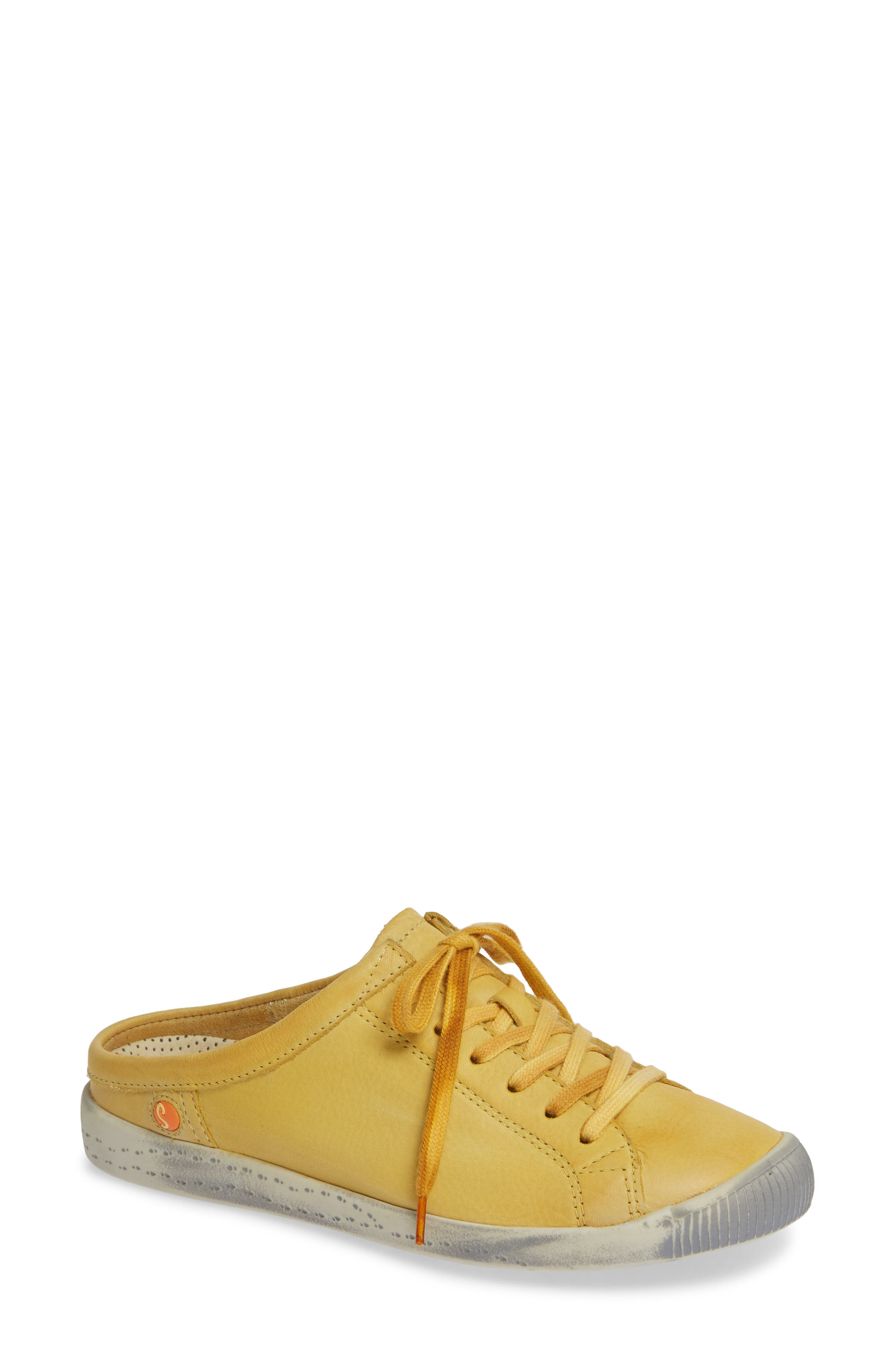 Softinos By Fly London Ije Sneaker Mule - Yellow