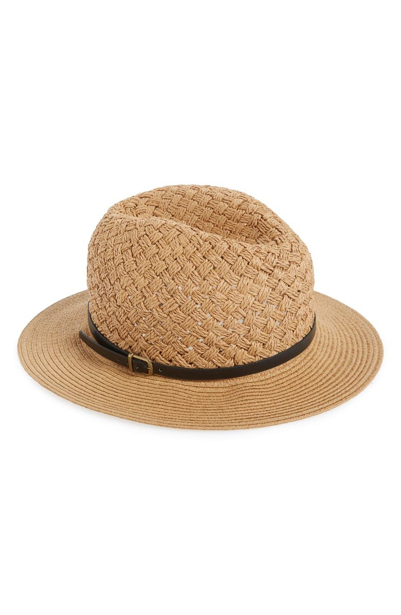 PHASE 3 Braided Straw Panama Hat, Main, color, 235