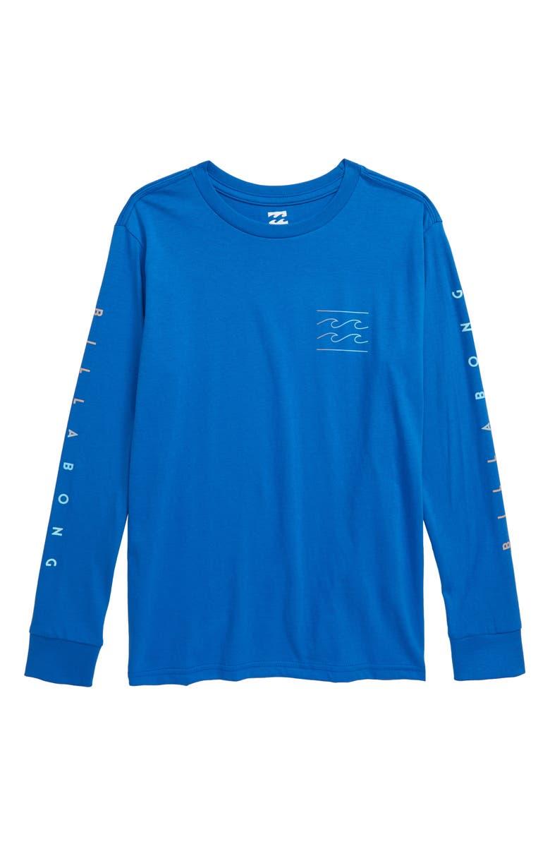 BILLABONG Unity T-Shirt, Main, color, ROYAL