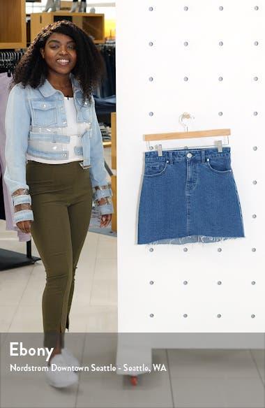 Seam Detail Denim Skirt, sales video thumbnail