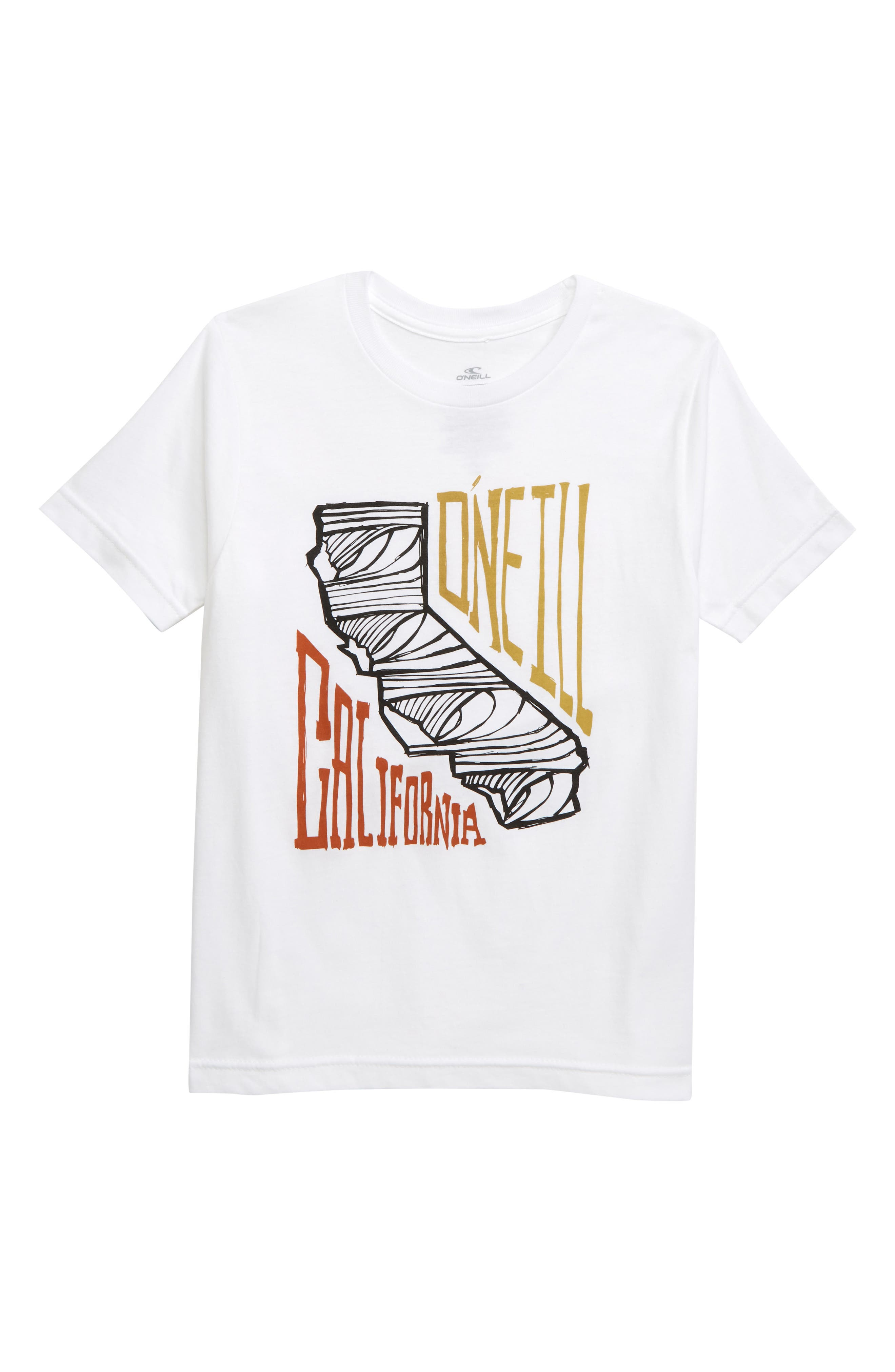 ONEILL Boys Big Modern Fit Front and Back Graphic Tee