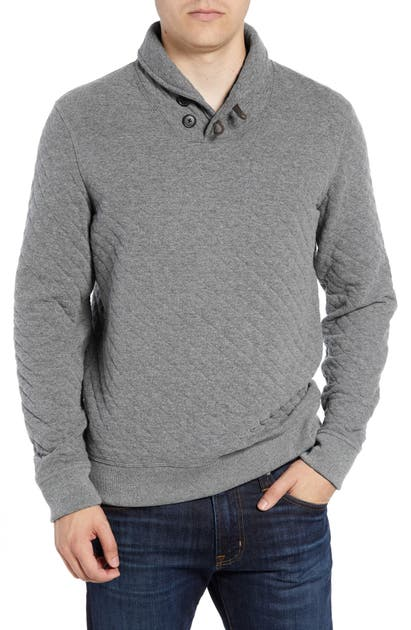 Billy Reid Tops SHAWL COLLAR PULLOVER