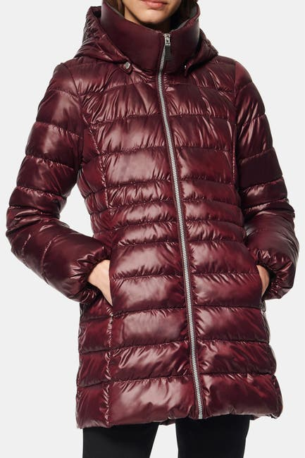 Image of Andrew Marc Windsor Quilted Puff Parka