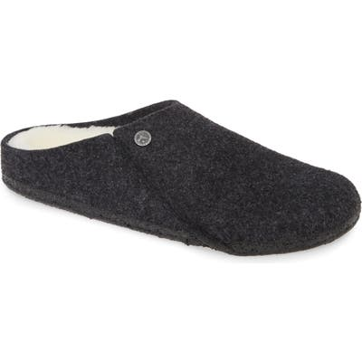 Birkenstock Zermatt Genuine Shearling Lined Clog,10.5 - Grey