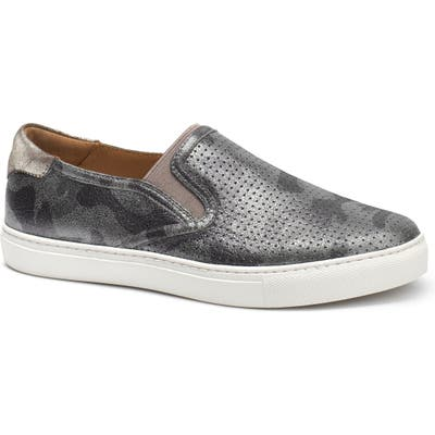 Trask Lillian Water Resistant Slip-On Sneaker, Metallic