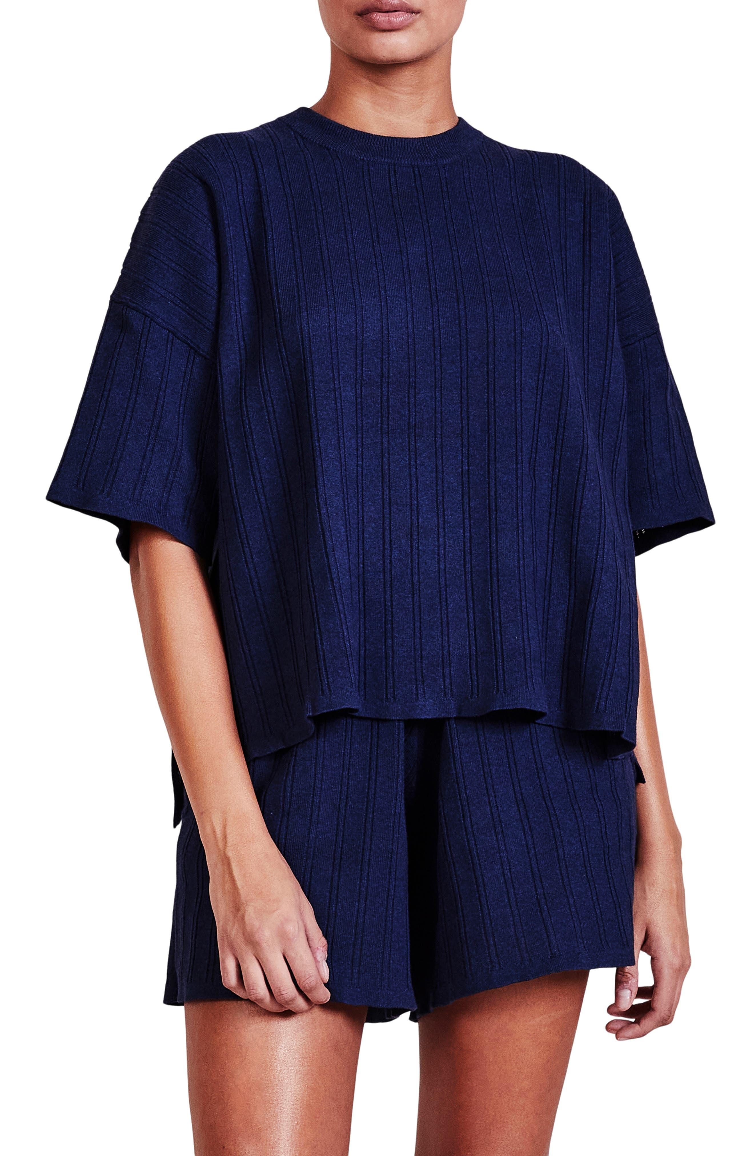 Oversize Short Sleeve Sweater