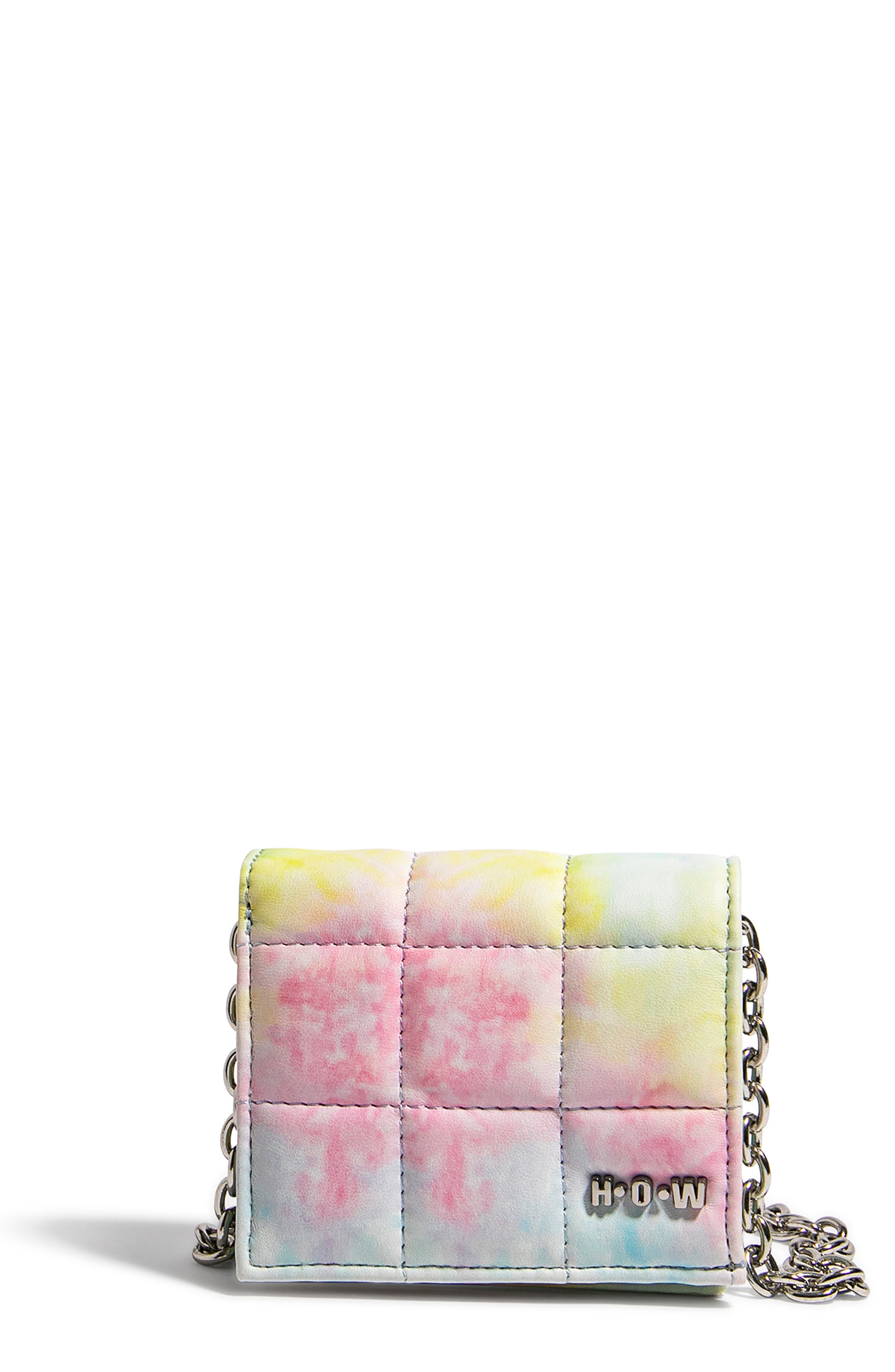 H.o.w. We Shop Vegan Leather Wallet Crossbody Bag