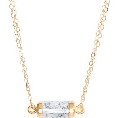 Mend Stack Pendant Necklace